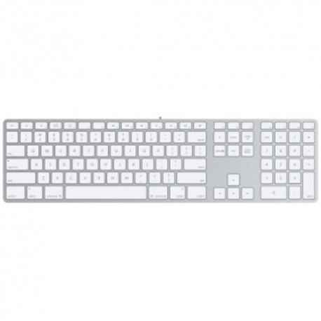 buy apple wired keyboard with numeric keypad compatible with mac os x later versions. Black Bedroom Furniture Sets. Home Design Ideas