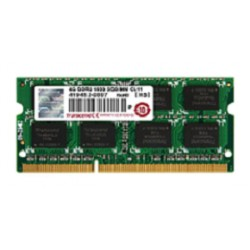 4GB DDR3 JetRam 204 Pin 1600MHz PC3-12800 SO-DIMM Transcend Laptop Memory Module
