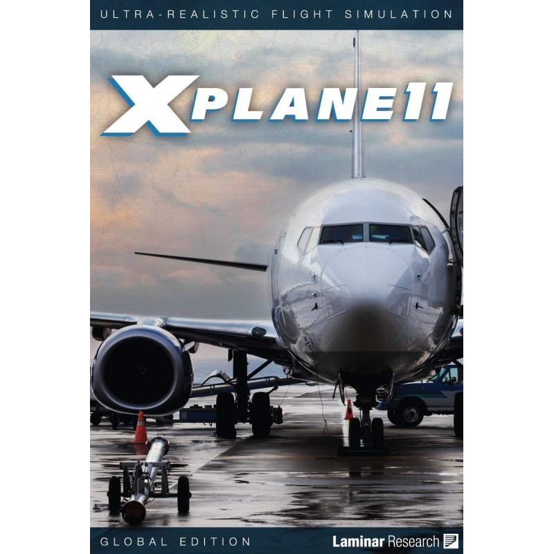 Official Version - X-Plane 11 Global Flight Simulator PC, MAC