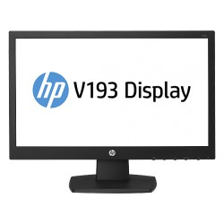 18.5-inch LED Monitor Backlit  HP V193  (ENERGY STAR)