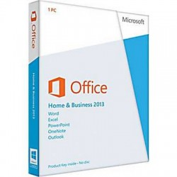 Microsoft Office Home and Business 2013 DVD - FPP, T5D-01594