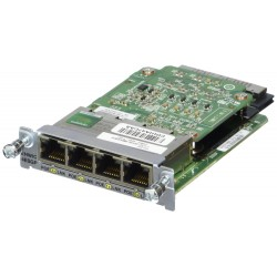 Cisco EHWIC-4ESG-P POE 4 Port 10/100/1000 Enhanced High-Speed WAN Interface Card