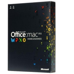 Microsoft Office Mac Home and Business 2011 English (1 User)