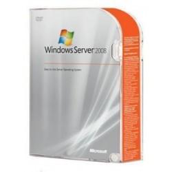 Windows Server STD 2008 R2-SP1 DSP-OEM 5-Client 64-Bit EULA Paper License