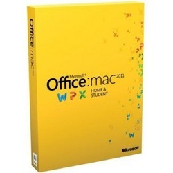MICROSOFT OFFICE FOR MAC HOME AND STUDENT EDITION 2011 GZA-00273