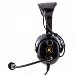 30e1e823c33 KORE AVIATION KA-1 Premium Gel Ear Seal PNR Pilot Aviation Headset with MP3  Support
