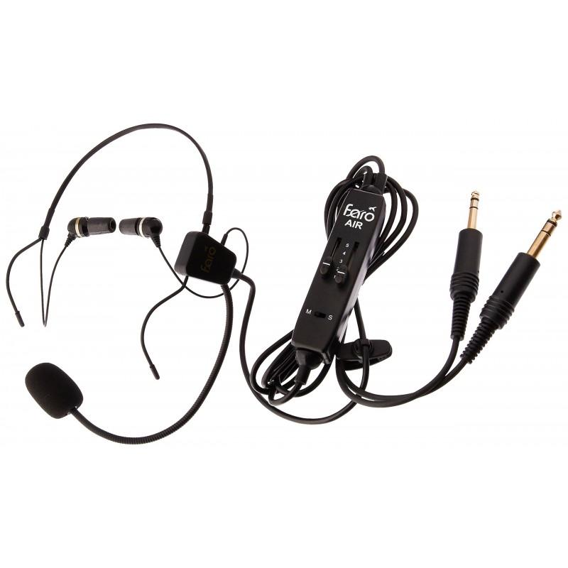 7e6189c5a91 FARO AIR in-Ear Aviation Headset Premium Pilot Headset - Compare with  ClarityAloft