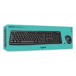 Logitech - MK270 Wireless Keyboard and Mouse
