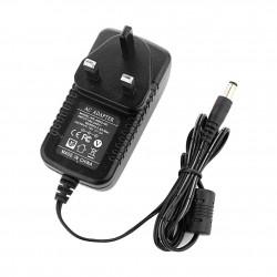 12V 2A AC DC Adapter UK Mains Power Supply General for LED Strips, Transformer, CCTV, IP Camera, Tv Set Box etc