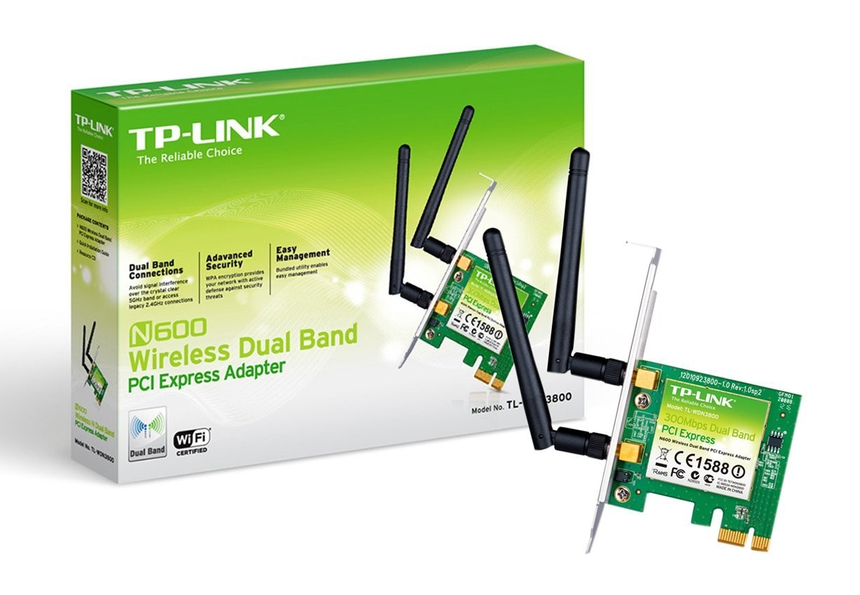 Buy N600 Wireless Dual Band Pci Express Adapter Tl Wdn3800 From Www Lan Card Tp Link Tg 3468 1000mbps Gigabit