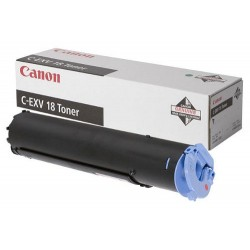 Canon C-EXV18 Toner Genuine Black Cartridge - (0386B002AA)